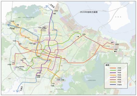 慈溪龙山地铁规划图