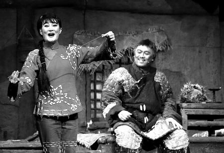 歌剧 白毛女 昨晚甬城上演