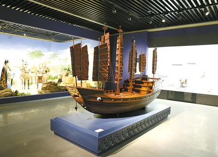 """在北仑读懂中国海洋文化 中国航海日""""向东是大海""""纪念郑和下西洋特展"""