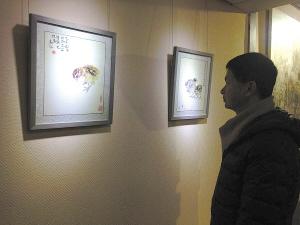 著名画家朱嘉凡35幅雏鸡画亮相甬城,书法,题字,题匾,名家,真迹,cntizi.com