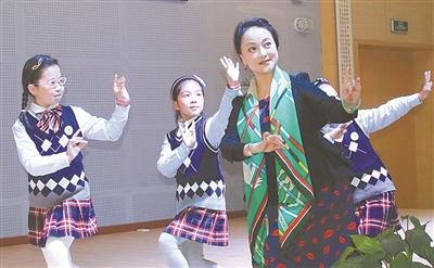 鄞江镇中心甬剧有了女生培训班不用说小学?图片
