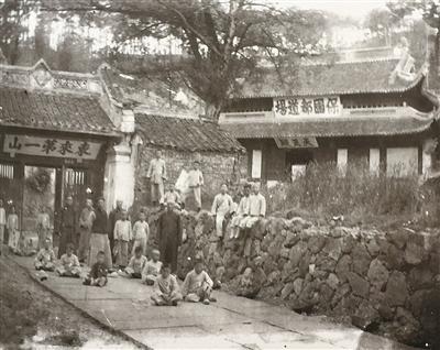 图片出自《慈溪老照片:晚清民初至新中国成立前》)-宁波日报社数图片