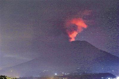 巴厘岛火山喷发-宁波日报社数字报刊平台