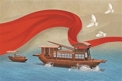 实现中华民族伟大复兴的中国梦,不是敲锣打鼓能实现的,要靠坚定理想