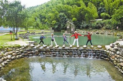 """镇海九龙湖:城市后花园勾勒""""向往的生活""""-"""