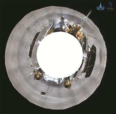 嫦娥四号与玉兔二号顺利完成互拍