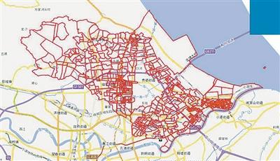 宁波高教园区手绘地图
