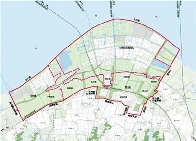 前湾新区规划图