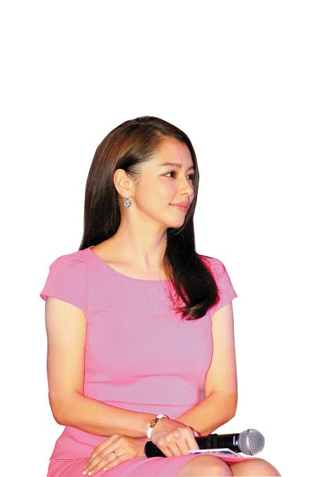徐若瑄在沪录制《中国梦之声》
