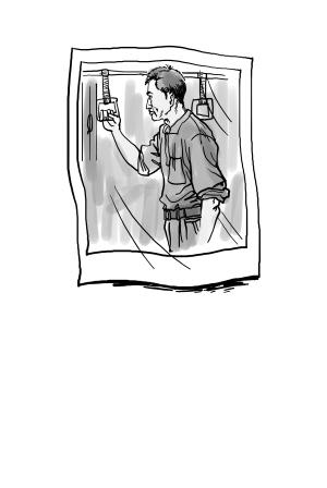 手绘学生插画背影