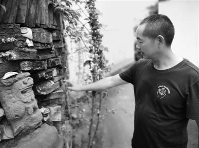胡国光也开始收藏村里的农耕文化遗存