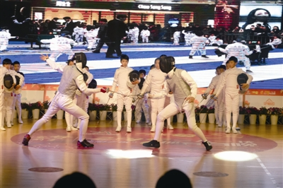 武林高手、剑坛奇侠…宁波的运动达人带着体育项目大拜年